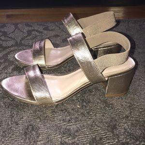 Good short-heeled sandals